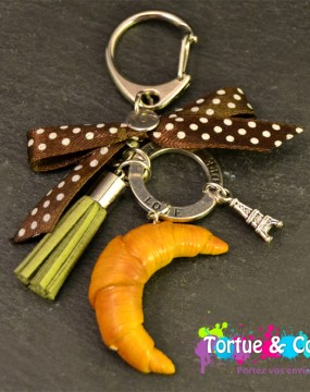 Porte clés gourmand Hand Made