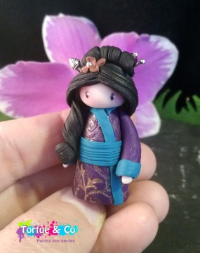 Figurine geisha