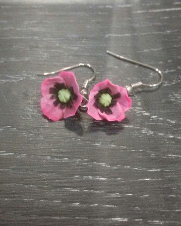 Boucles d'oreille «Petite Fleur»