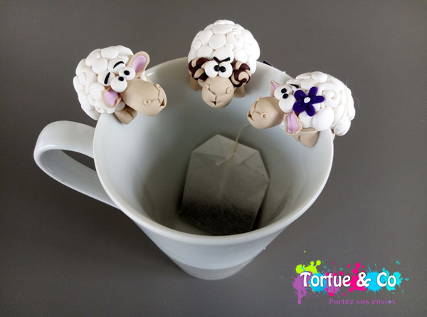 Accroche Thé Mouton